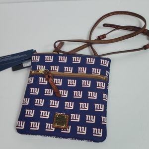 Dooney & Bourke NY Giants crossbody NWT
